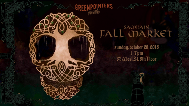 The Greenpointers Samhain Fall Market is spooky and haunting