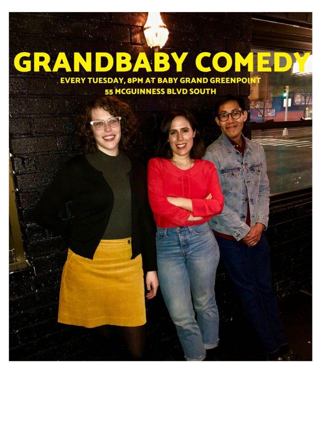 Grandbaby Comedy and Free Karaoke