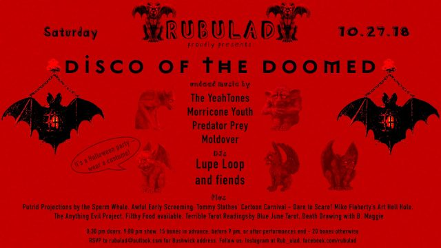 Rubulad Presents: Disco of the Doomed!