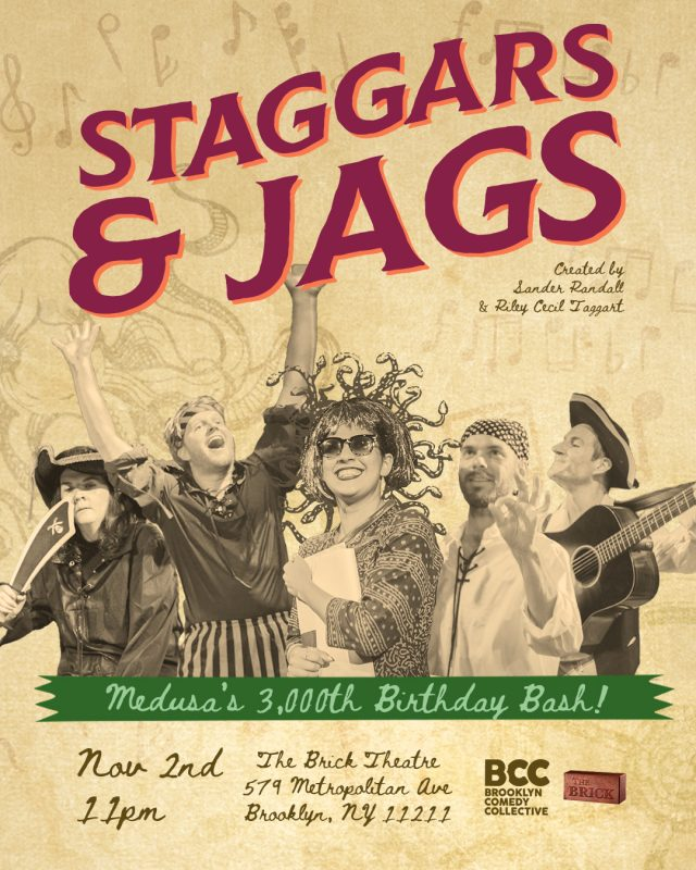 Staggars & Jags: Medusa's 3,000th Birthday Bash!