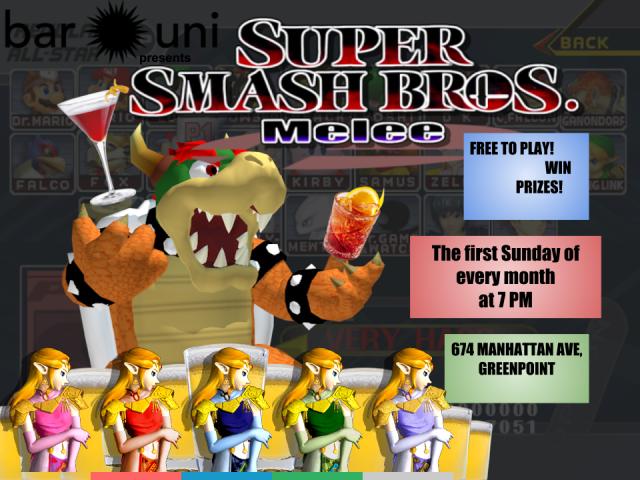 SUPER SMASH BROS NIGHT at Bar Uni