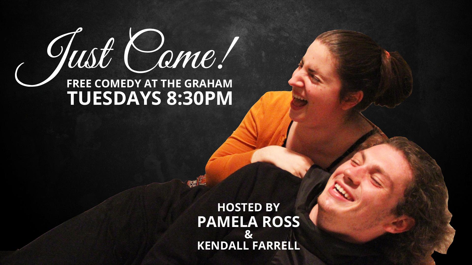 Just Come! Free Comedy in Williamsburg