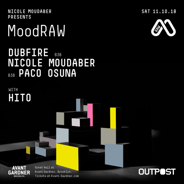 Nicole Moudaber presents MoodRAW