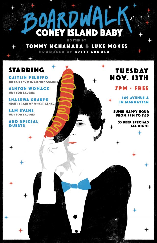 Boardwalk: A Free Weekly Comedy Show!