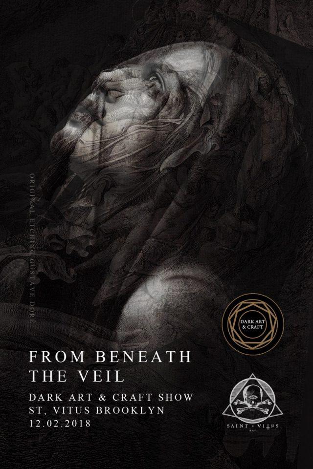Dark Art & Craft Presents: From Beneath the Veil: Pop-Up Art Show