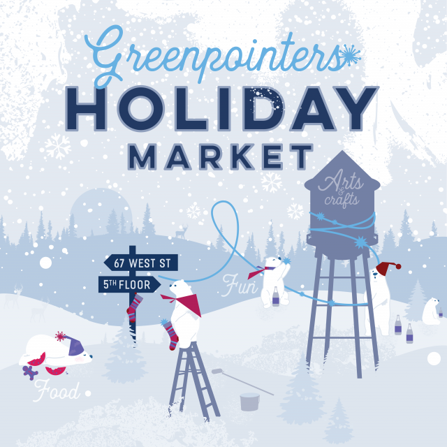 Immerse yourself in a winter wonderland at the Greenpointers Polar Vortex Holiday Market this Sunday (12/1)