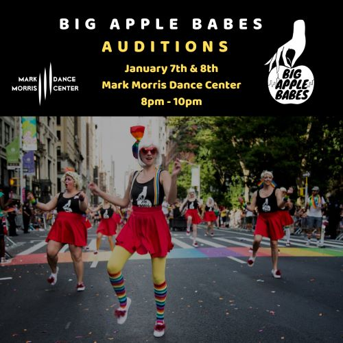 Big Apple Babes – All-Lady Dance Krewe Auditions!
