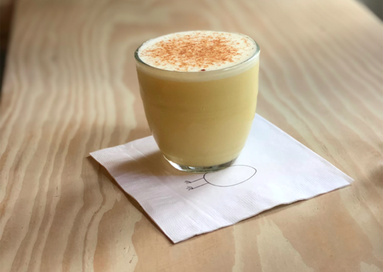 A genius winter cocktail: Egg Shop's Anonymous Eggnog