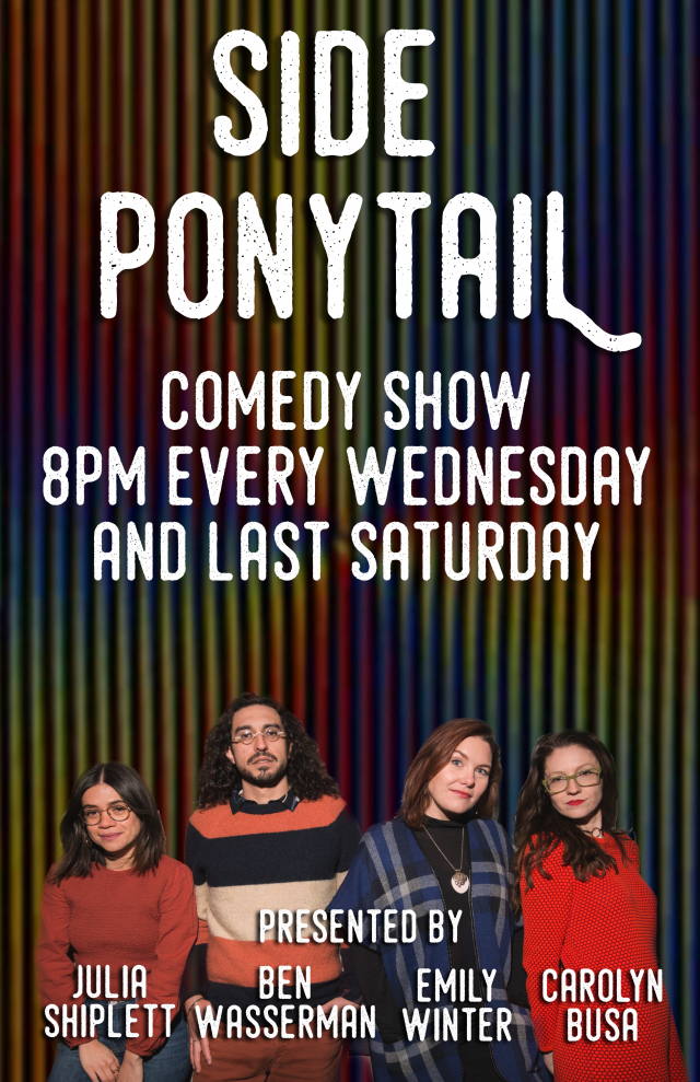 Side Ponytail Comedy Show (feat. Aparna Nancherla & free beer!)