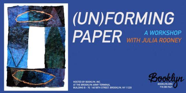(Un)Forming Paper Workshop
