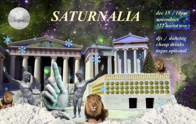 Saturnalia: UnionDocs Holiday Hurrah!