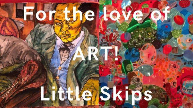 For the love of ART: Little Skips Winter Art Show