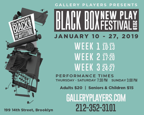 Black Box New Play Festival Week 2