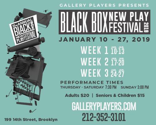 Black Box New Play Festival Week 1