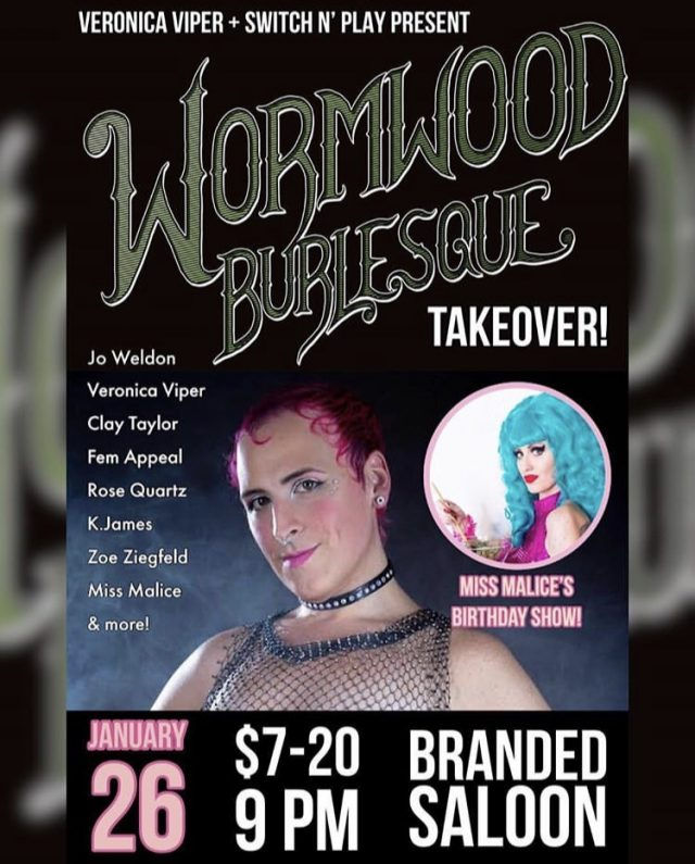 Wormwood Burlesque Takeover of Switch n' Play