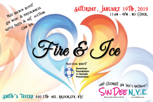 Fire & Ice: Suicide Prevention Fundraiser