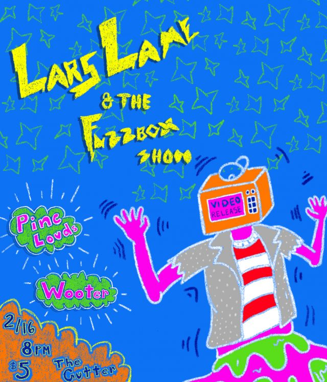 Lars Lame and the Fuzzbox Show: Video Release