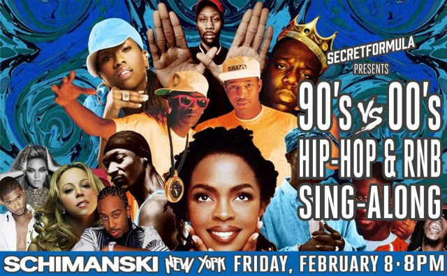The 90's Hip Hop & RnB Sing-Along