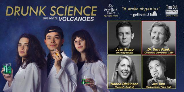 Drunk Science presents: Volcanoes