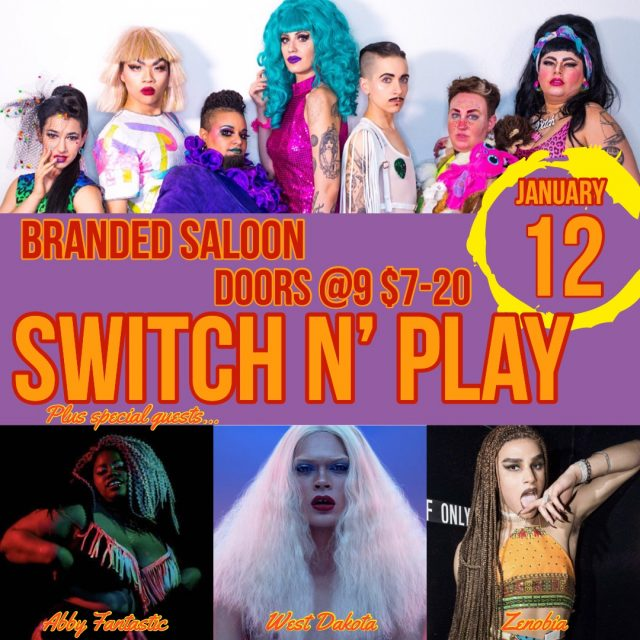Switch n' Play *January 12*