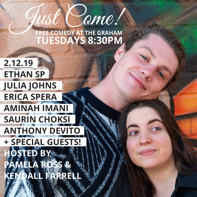 Just Come! Free Comedy, East Williamsburg