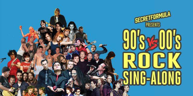 90's vs 00's Rock Sing-Along