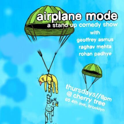 airplane mode: a comedy show