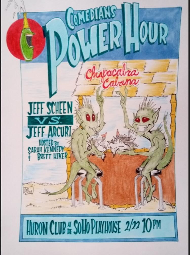 Comedians' Power Hour - Brokelyn