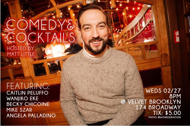 Comedy & Cocktails