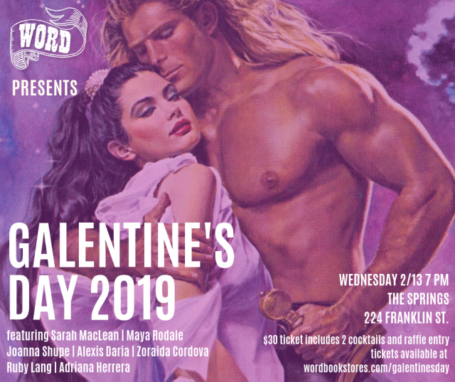 Galentine's Day 2019 with WORD Bookstore