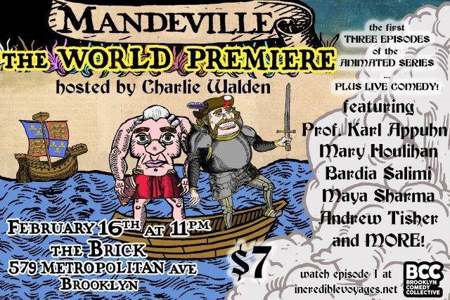 """""""MANDEVILLE"""" World Premiere"""