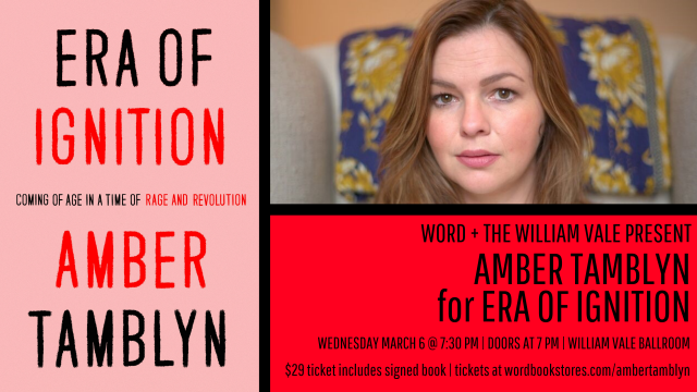 Amber Tamblyn for Era of Ignition