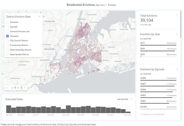 New Mapping Tool Shows NYC Evictions Dropped 37 Percent Since 2013 ...