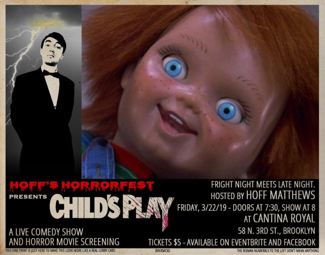 Hoff's Horrorfest Presents: Child's Play