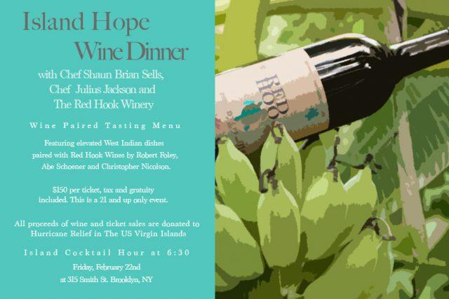 Island Hope Winery Dinner