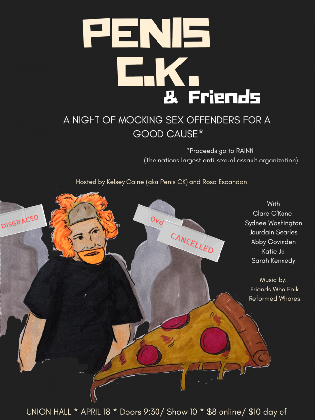 Penis C.K. and Friends: A Night of Mocking Sex Offenders for a Good Cause