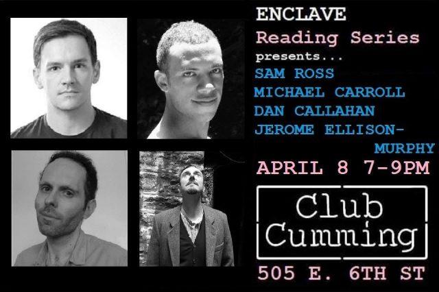 Enclave Reading Series Presents: Callahan, Ross, Carroll, Murphy