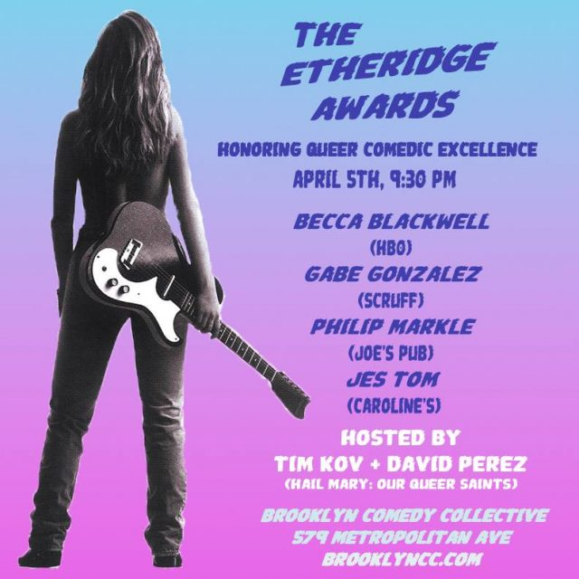 The Etheridge Awards: A Comedy Show