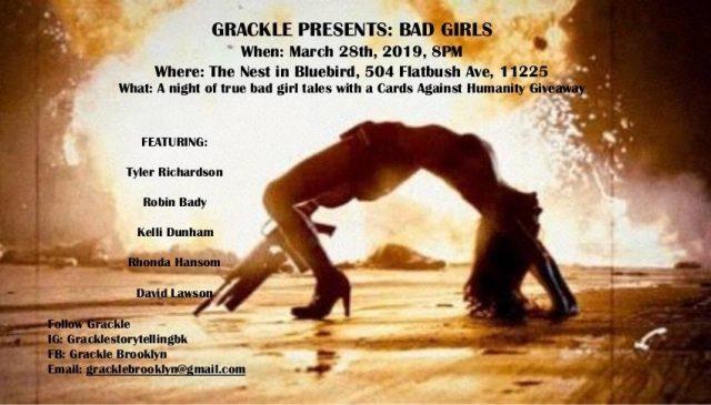 Grackle Presents: Bad Girls