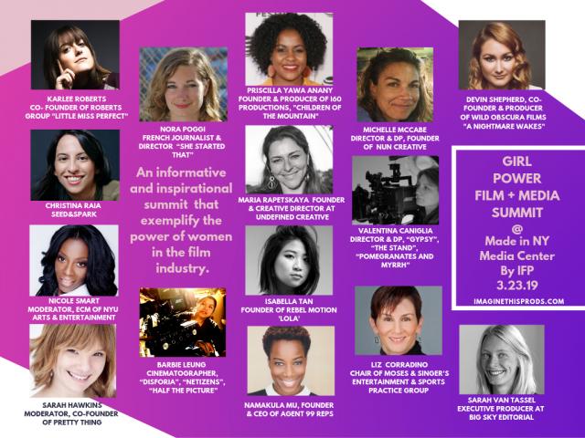 Girl Power Film + Media Summit