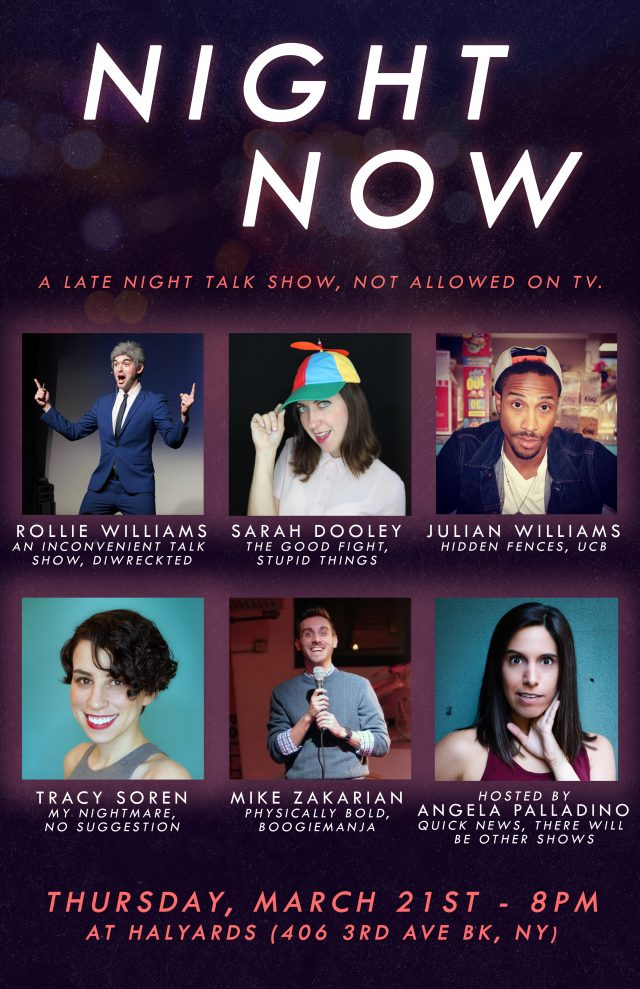 "Night Now – Live ""Late Night"" Comedy Show"