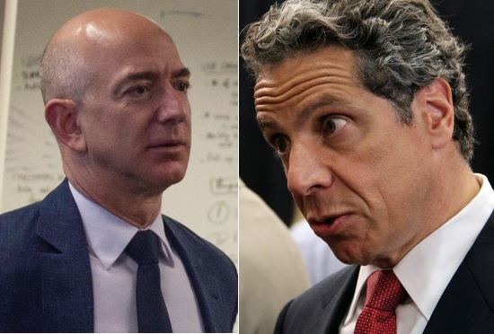 'Amazon' Cuomo pens open letter to the one that got away: Jeff Bezos
