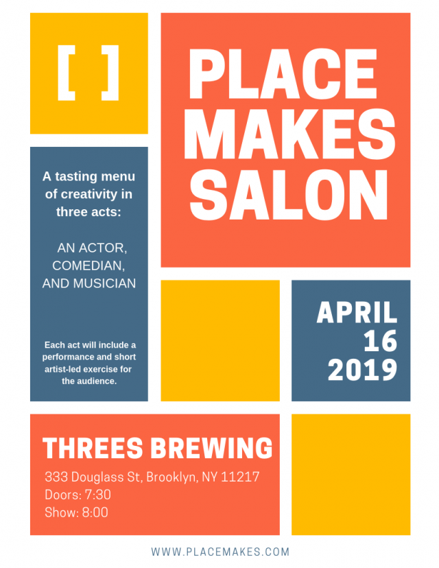 PLACE MAKES x THREES BREWING