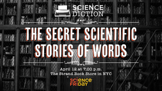 Science Diction: The Secret Scientific Stories Of Words