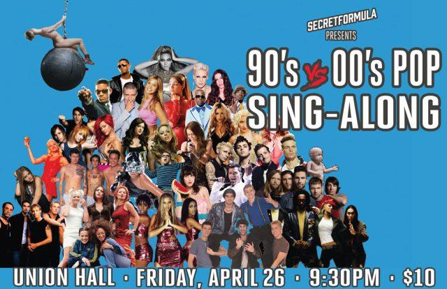 90's vs 00's Pop Sing-Along