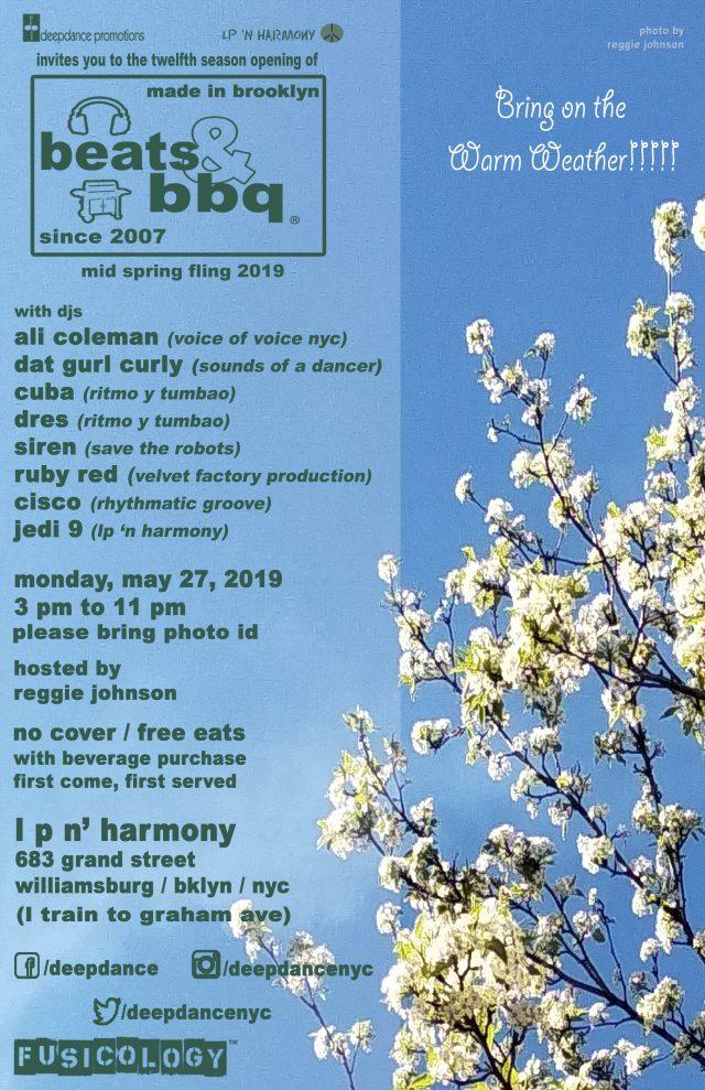Beats & BBQ:  The Mid Spring Fling 2019
