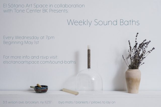 Weekly Sound Baths