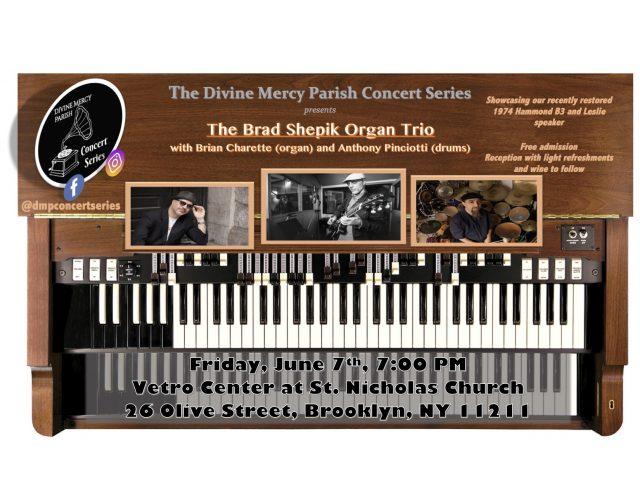 Brad Shepik Organ Trio