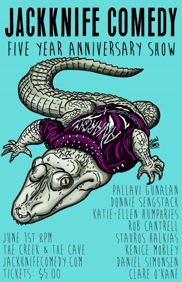Jackknife Comedy: 5 Year Anniversary Show