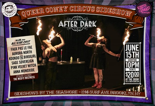 Queer Coney Circus Sideshow: After Dark